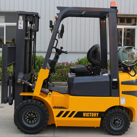 China 1.8 ton LPG forklift gas forklift with cpaper roll clamp leverancier