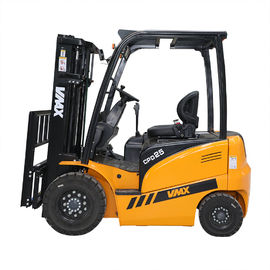 China VMAX MAX lift height 6000mm electric Battery forklift 2500kg load capacity with cartis controller leverancier