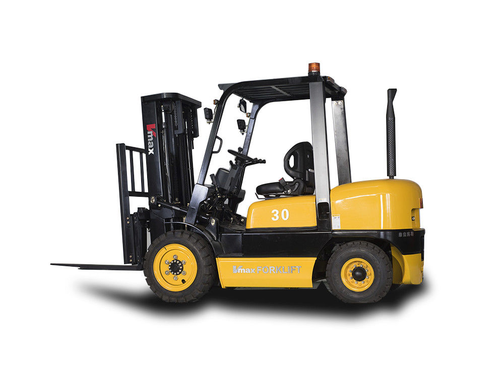 Professional 3T Diesel Engine Forklift Truck With Isuzu C240 Engine Customized
