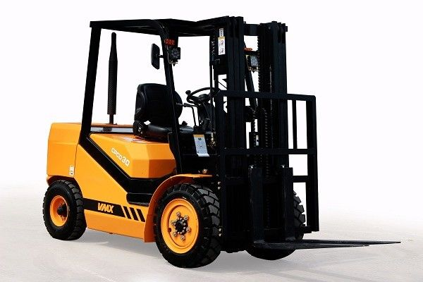Standard Electric 3.5 Ton Diesel Powered Forklift With 6m Lifting Height