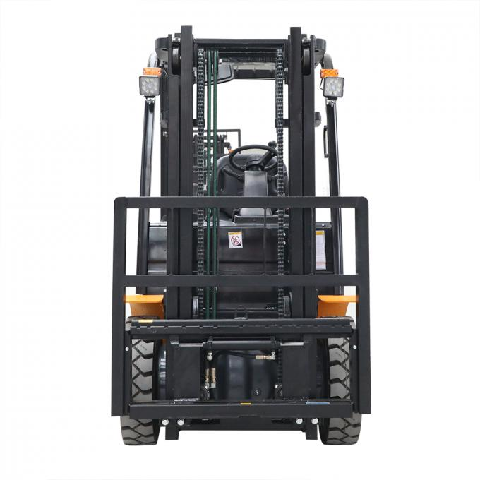VMAX MAX lift height 6000mm electric Battery forklift 2500kg load capacity with cartis controller